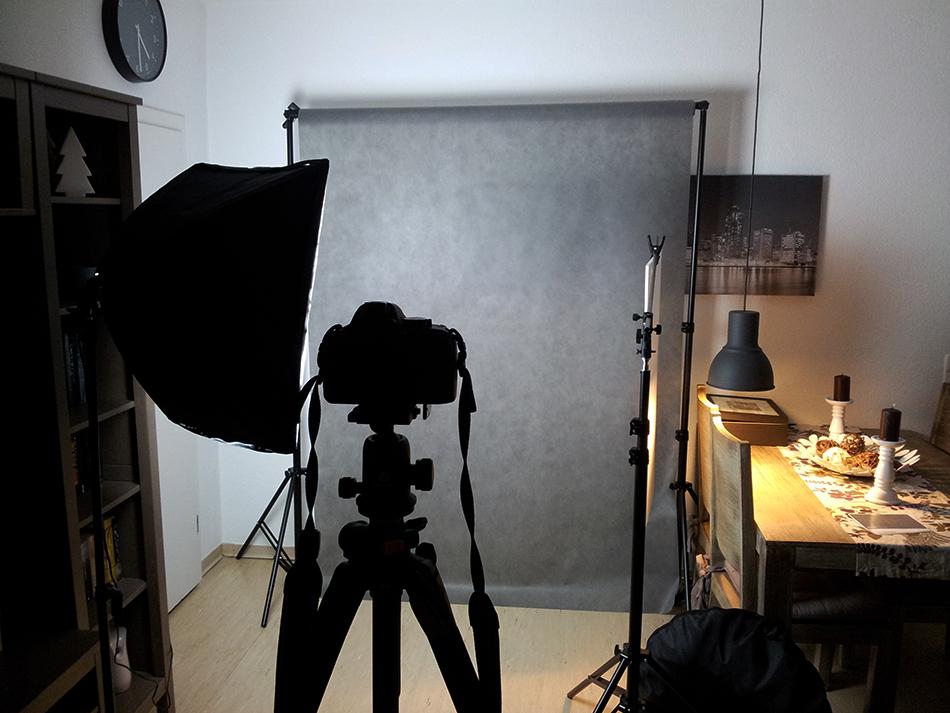 Lichtpresse-Hintergrundsystem
